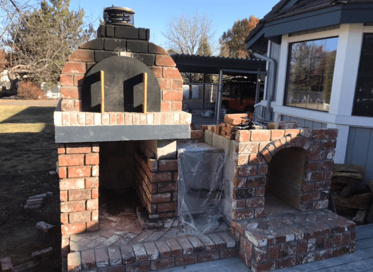 Pizza Oven Fireplace Combo (16)